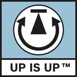 Up is Up 自動將影像導向至顯示器以確保最佳方向