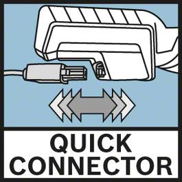 快速連接器 採用快速連接器技術,可快速輕鬆地拆除電纜