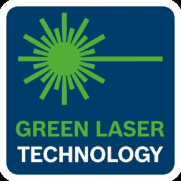 能見度更高的綠色雷射技術
