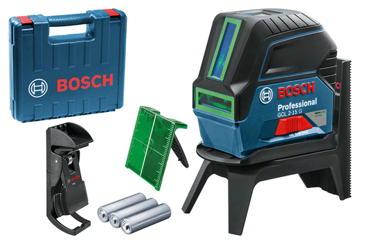 手提袋內含3個電池(AA)、雷射目標板
